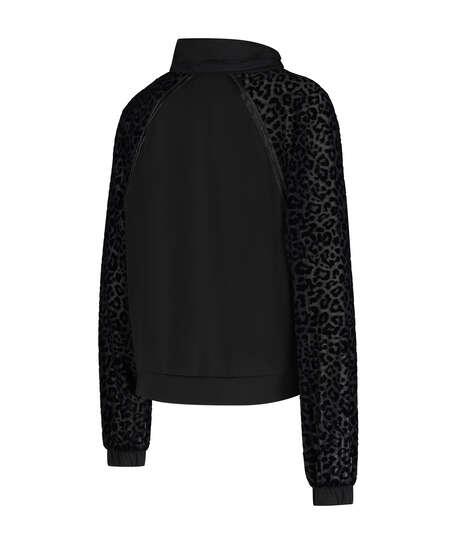 HKMX Jacket Leopard , sort