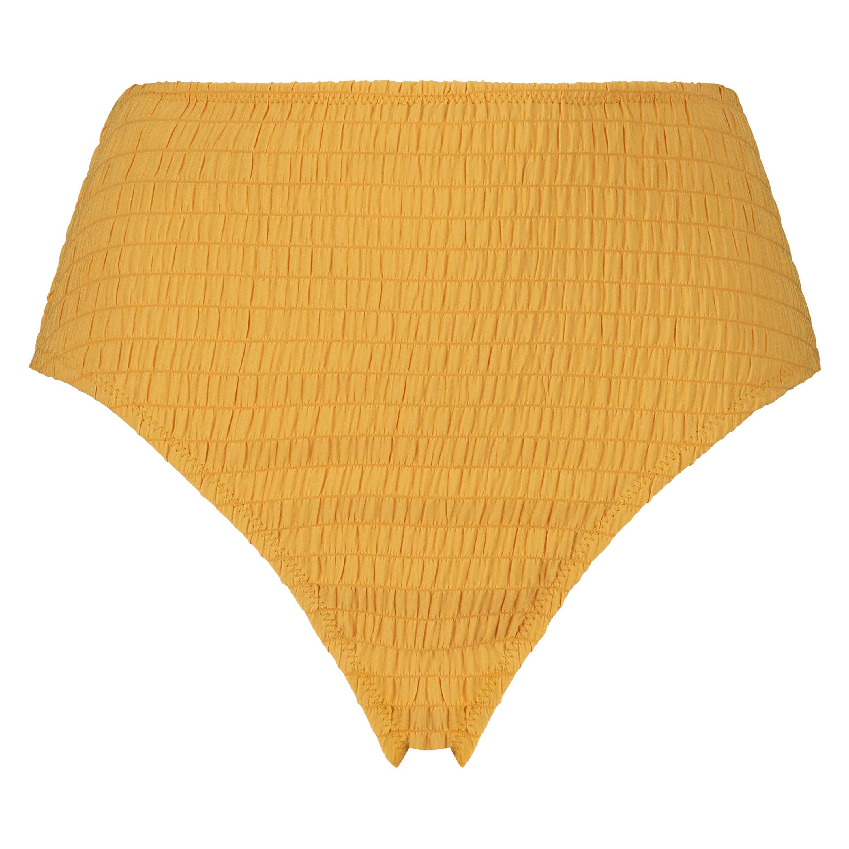 Goldenrod bikiniunderdel med høje ben, gul, main
