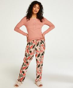 Petite Pyjamasbukser Woven, Beige