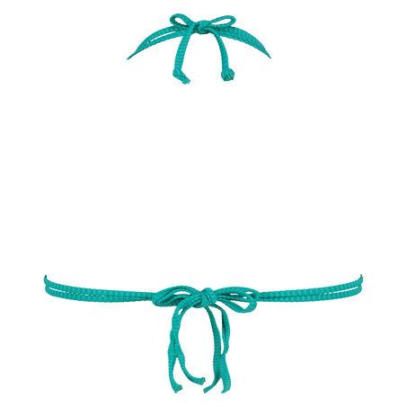 Aurora trekant-bikinitop, blå