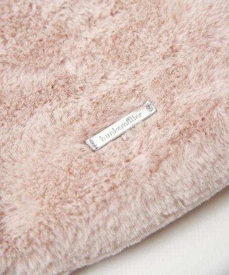 Makeup-taske Fake fur, pink