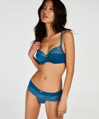 Sophie ikke-formstøbt bøjle-bh, blå