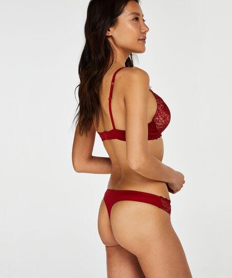 Theresa formstøbt pushup-bøjle-bh, rød
