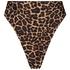 Højudskåret brasiliansk bikinitrusse Animal HKM x NA-KD, Brown