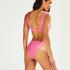 Højt udskåret rio-bikinitrusse Vintage HKM x NA-KD, pink