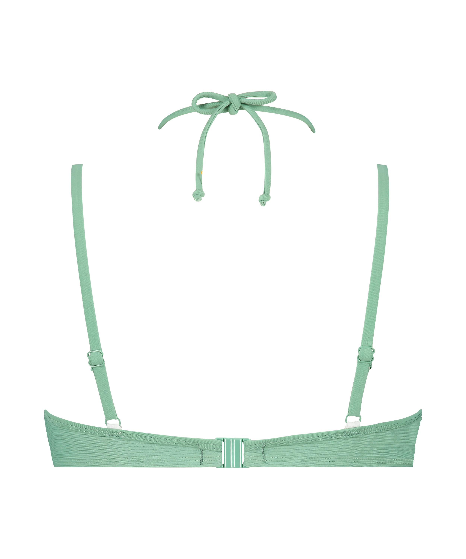 Formstøbt bikinitop med bøjle Sienna, grøn, main