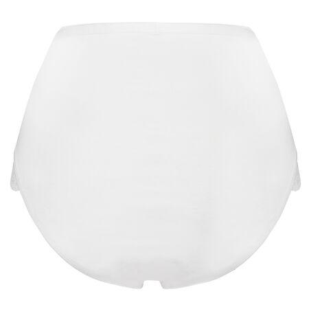 Superslip Lace Maxi bomuld, hvid