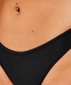 Højt udskåret bikinitrusse Haze, sort