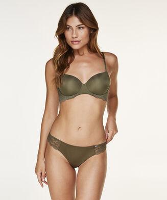 Angie g-streng, grøn