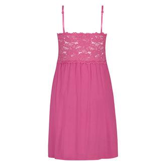 Modal Lace natkjole, pink