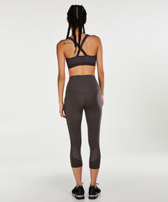 HKMX High Waisted capri level 2, Grå