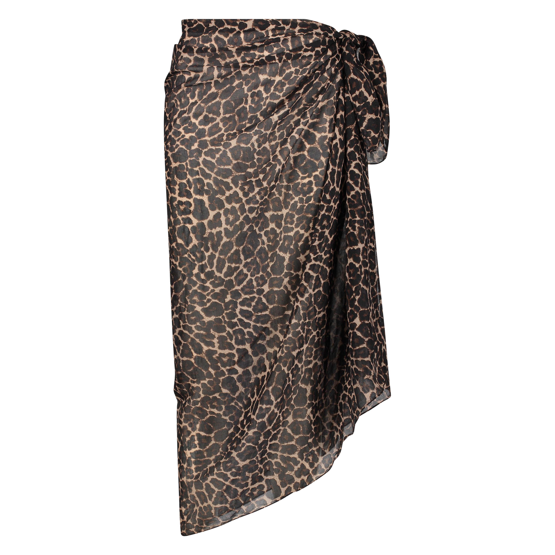 Leopard pareo, sort, main