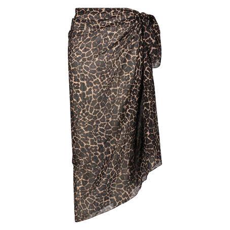 Leopard pareo, sort