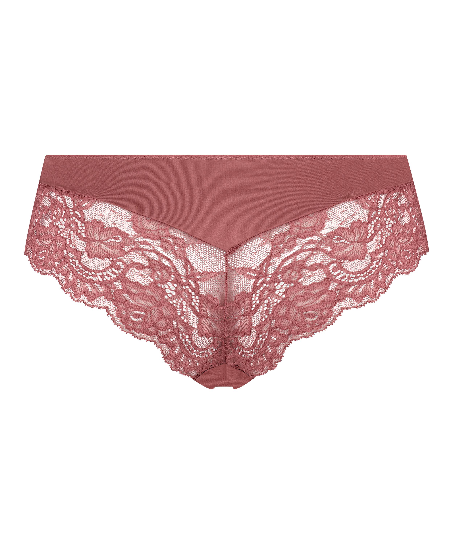 Brasilianske shorts Teddy, pink, main