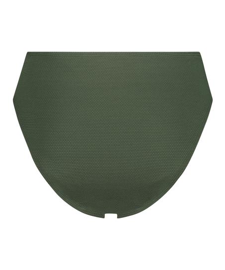 Lav rio bikinitrusse Scallop Glam, grøn