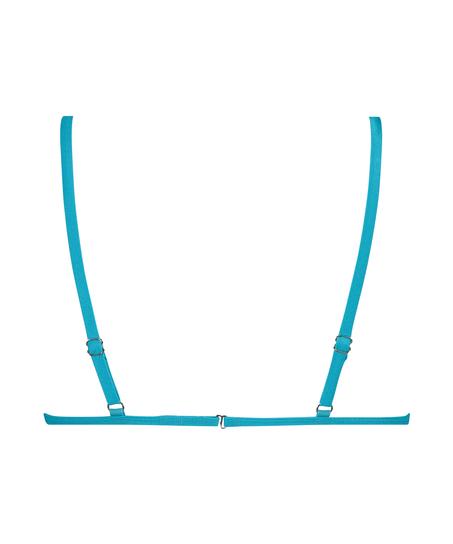 Celine trekantsbikinitop, blå