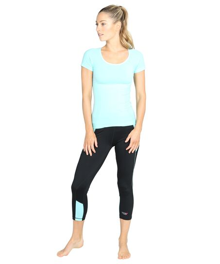 Sports leggings Victoria, blå