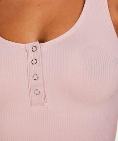 Singlet Rib body, pink