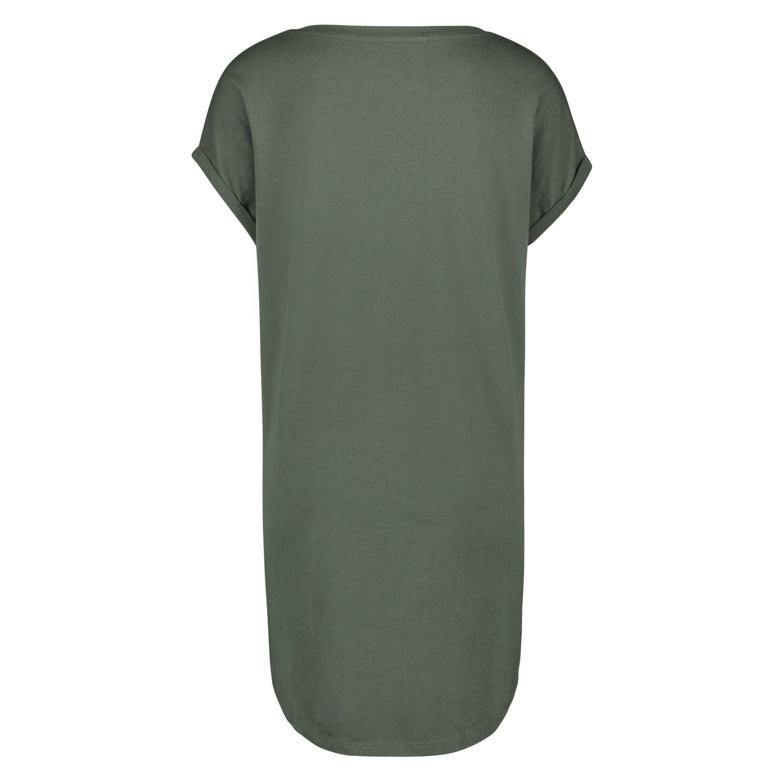 Natskjorte rund hals, grøn, main