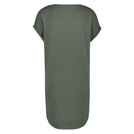 Natskjorte rund hals, grøn