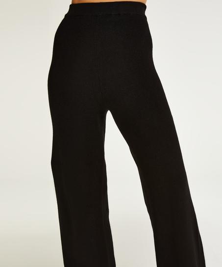 Premium Lange bukser strik, sort