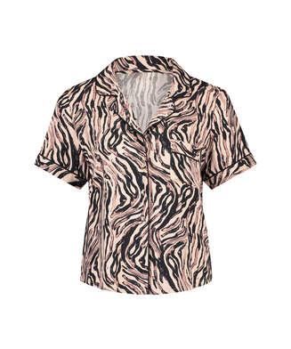 Pyjamasjakke Zebra, Beige