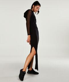 HKMX Mesh kjole, sort