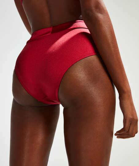 Høj bikinitrusse Lola, rød
