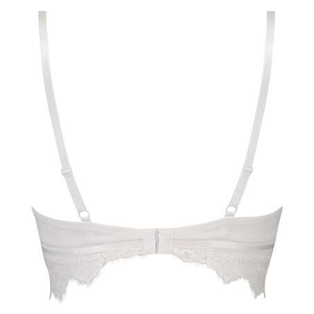 Marilee formstøbt longline bøjle-bh, hvid