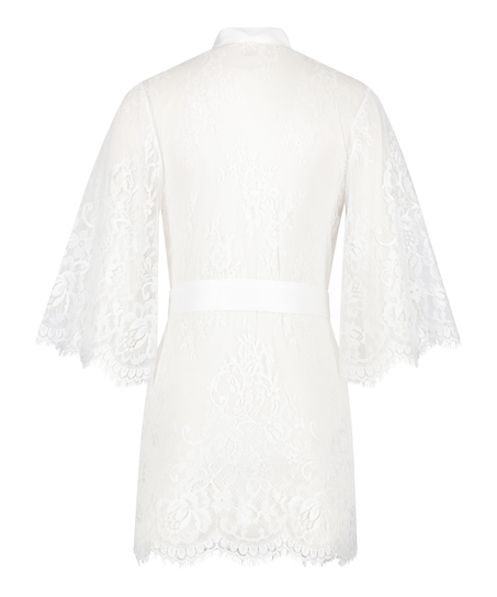 Lace Isabelle kimono, hvid