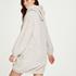 Snuggle fleece kjole, Beige