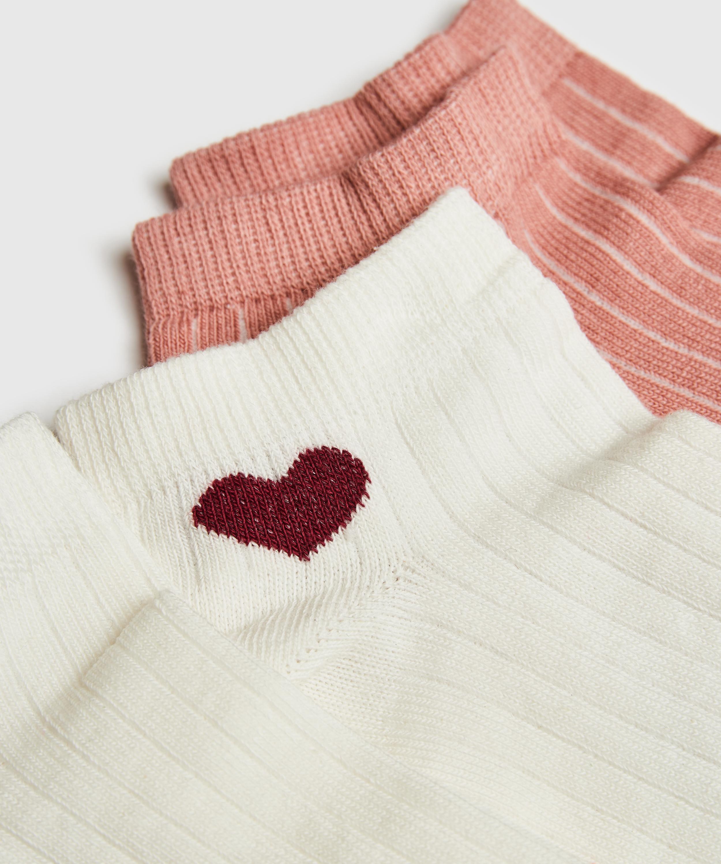 2 Par Sokker, hvid, main