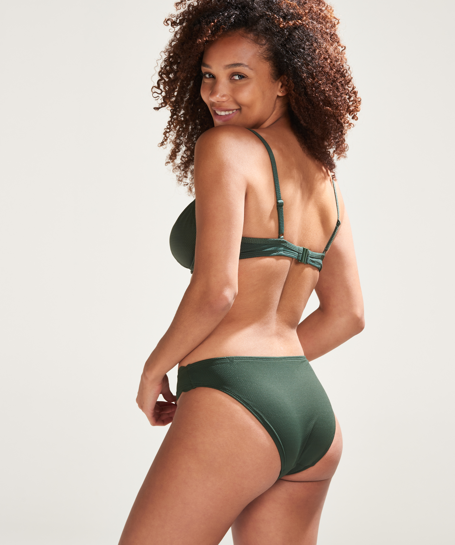 Lav rio bikinitrusse Scallop Glam, grøn, main