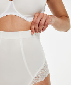 Scuba Lace g-streng - Level 3, hvid