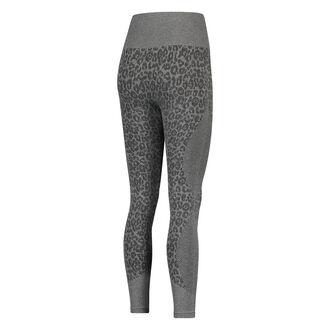 HKMX sportsbenvarmere, rundstrik, høj talje leopard, Grå