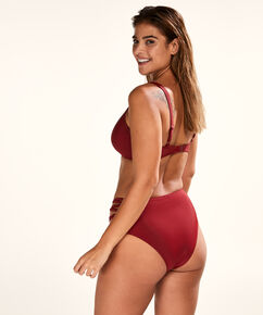 Ikke-forformet bøjle-bikinitop New Dreams, rød