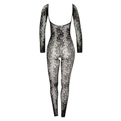 Long Sleeve catsuit, sort