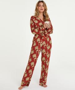 Petite Pyjamasbukser Woven, pink