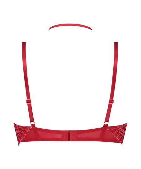 Formstøbt longline-bøjle-bh Coco, rød