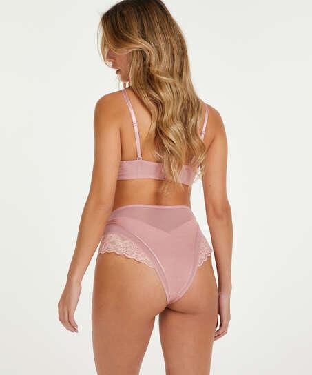 Formstøbt strapless bøjle-bh Aimee, pink