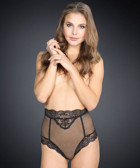 High-rise brazilian knickers Chloe, sort