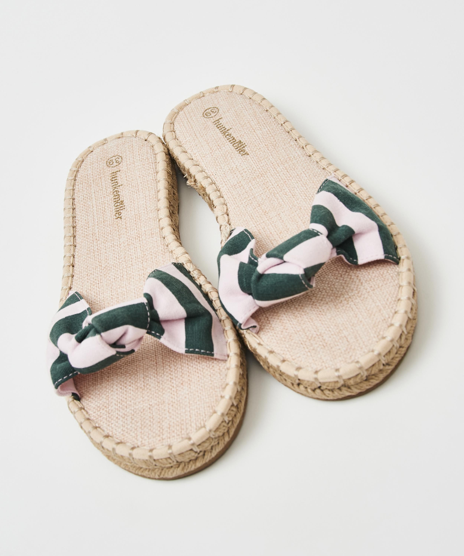 Sandaler printed knot, grøn, main
