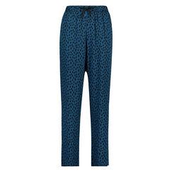 Woven pyjamasbukser, blå