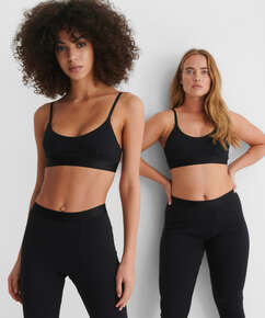 High waisted sportslegging Zia HKM x NA-KD, sort