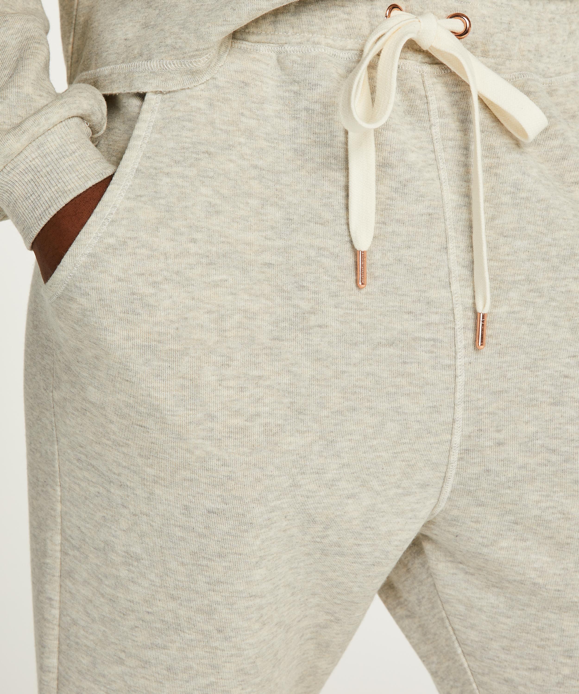 Tall pyjamasbukser Sweat Brushed Back, Grå, main