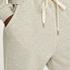 Tall pyjamasbukser Sweat Brushed Back, Grå