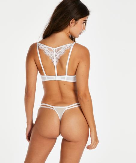Tanga g-streng Leyla, hvid