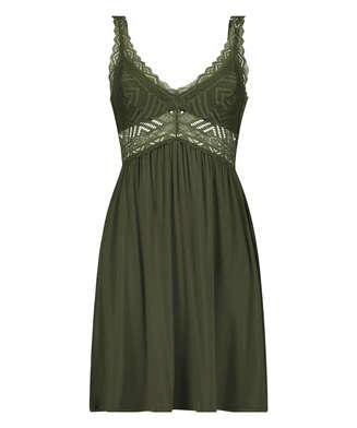 Nora Lace Reinier natkjole I AM Danielle, grøn