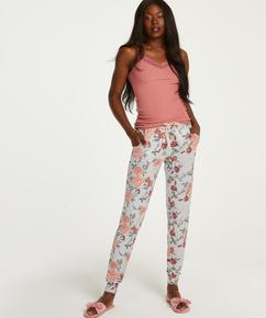 Tall Jersey Sage pyjamasbukser, Grå