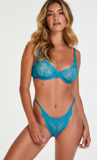 Ikke-polstret tråd-bh Isabelle, blå